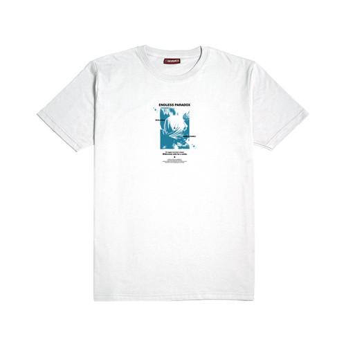 Foto Produk Morwick Tshirt Kaos Pria Paradox Putih - S dari Morwick Official Shop