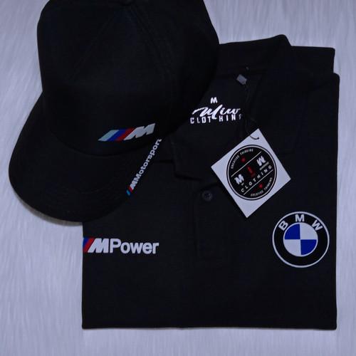 Foto Produk Kaos Polo Shirt Pria Wanita - BMW M Power dari Miw Clothing