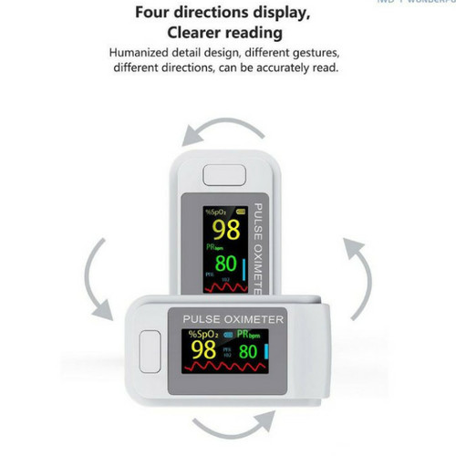 Foto Produk oksimeter oximeter fingertip pulse alat ukur detak jantung dan oksigen dari family 993