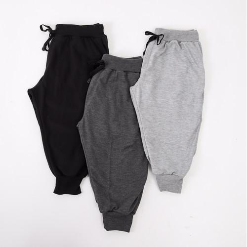 Foto Produk Semi Jogger Pants (Abu Tua) - L dari Arsenio Apparel Store