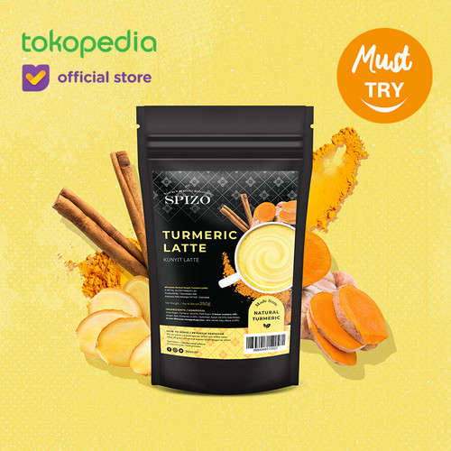 Foto Produk Turmeric Latte - Golden Milk dari SPIZO