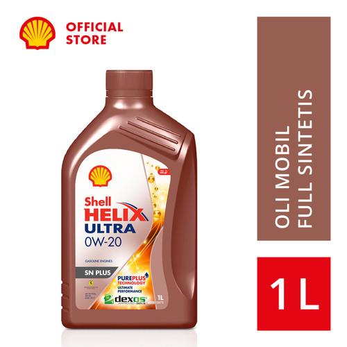 Foto Produk Oli Mesin Mobil Shell Helix Ultra 0W-20 (1L)+Ganti Oli di Tempat dari SHELL Indonesia