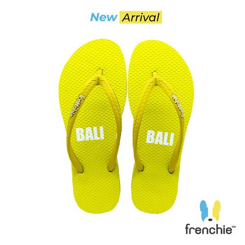 Foto Produk Frenchie Sandal Jepit Basic Slim ALL Yellow KSSL01 - 37 dari FRENCHIEWAY