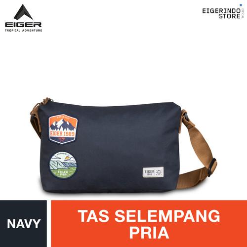 Foto Produk Eiger 1989 Pathway Shoulder Bag - Navy dari Eigerindo Store