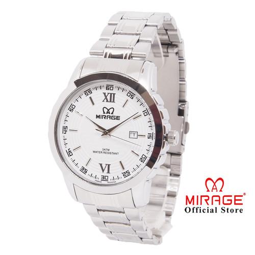 Foto Produk Jam Tangan Pria Mirage Original 8267M-pP Silver dari Mirage Watch
