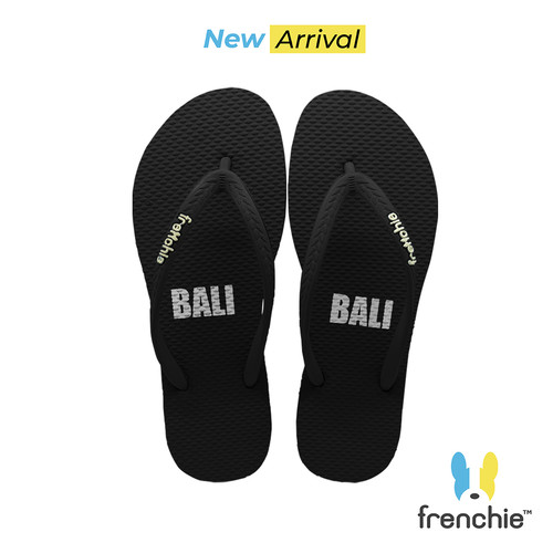 Foto Produk Frenchie Sandal Jepit Basic ALL Black KSSL02 - 36 dari FRENCHIEWAY