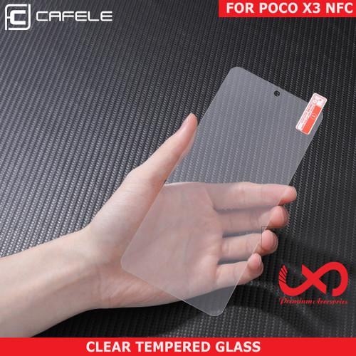 Foto Produk Cafele Xiaomi Poco X3 NFC Tempered Glass Anti Gores Pelindung Layar - Poco X3 NFC dari Lapak X Dareh