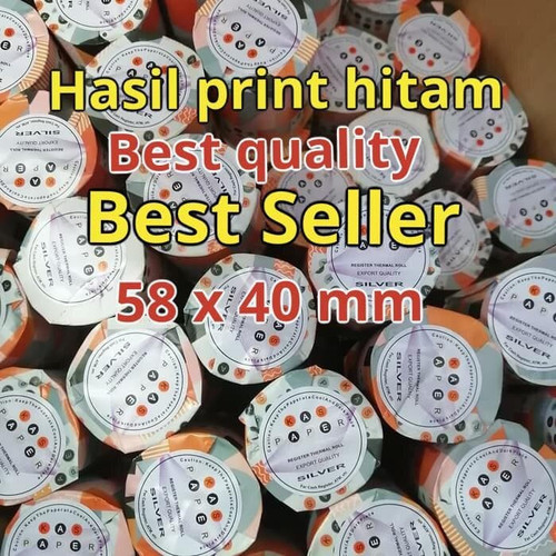 Foto Produk kertas print Thermal paper roll 58 X 40 dari smart buyer solution