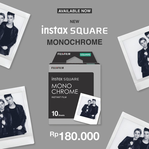 Foto Produk Refill Instax Square Monochrome isi 10 Lembar dari taskamera-id