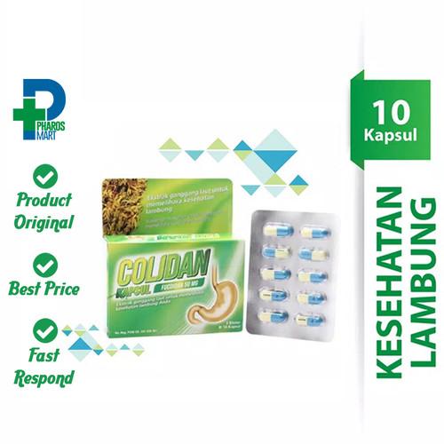 Foto Produk Colidan Fucoidan 50 mg 1 Blister @ 10 Kapsul dari Pharos Official Store