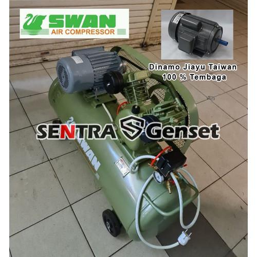 Foto Produk Kompresor Swan 0.5 HP & Electric Motor Automatic . Swan SVU 212 dari Sentra Genset