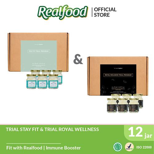 Foto Produk Realfood Trial Royal Wellness dan Trial Stay Fit dari Realfood