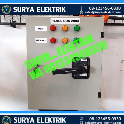 Foto Produk PANEL COS OHM SAKLAR PLN GENSET SOCOMEC 200A 200 A Amper BOX 1.5MM ORI dari SURYA-ELEKTRIK