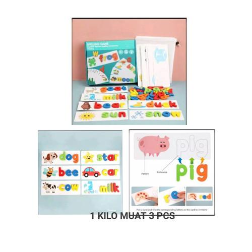 Foto Produk Spelling Game Mainan Edukasi Mengeja Kata - Spelling Game dari nicky888
