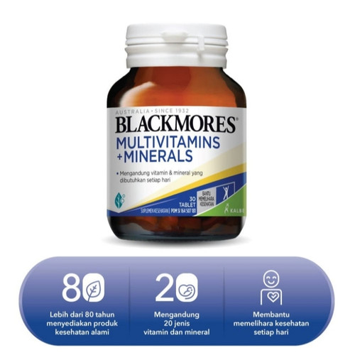 Foto Produk Blackmores Multivitamins + Minerals (30) dari Biang Laris