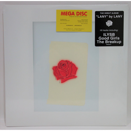 Foto Produk LP Lany - Lany (Debut Album) Vinyl Piringan Hitam dari Mega Disc