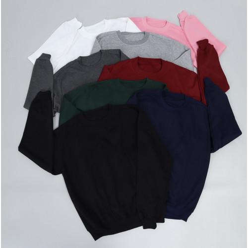 Foto Produk Basic Sweater Series - M, Hitam dari Arsenio Apparel Store
