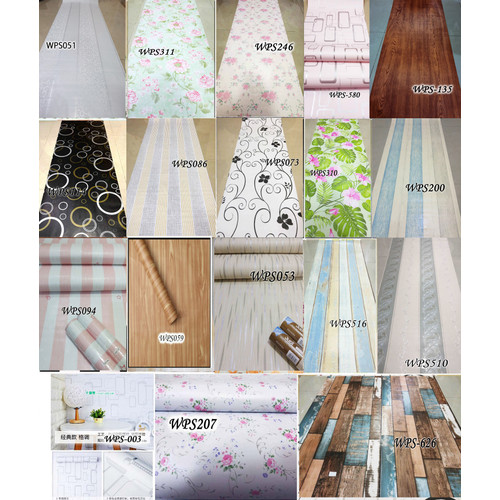 Foto Produk WALLPAPER BEST SELLER WALL PAPER STICKER MURAH WALPAPER STIKER - BEST SELLER dari radja dinding