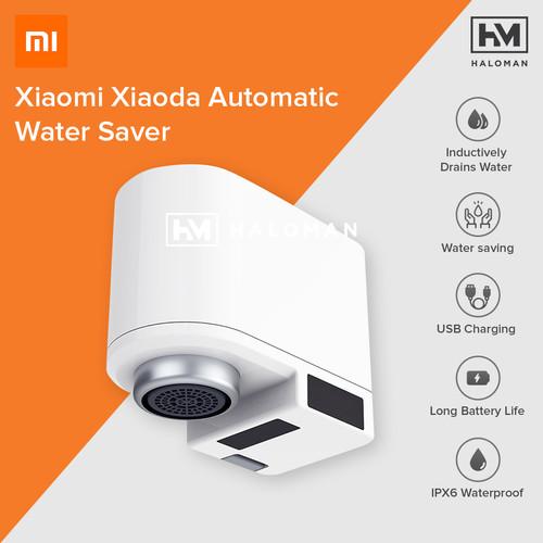 Foto Produk Xiaomi Mijia Original Automatic Water Saver Tap Keran Air Otomatis dari haloman.id