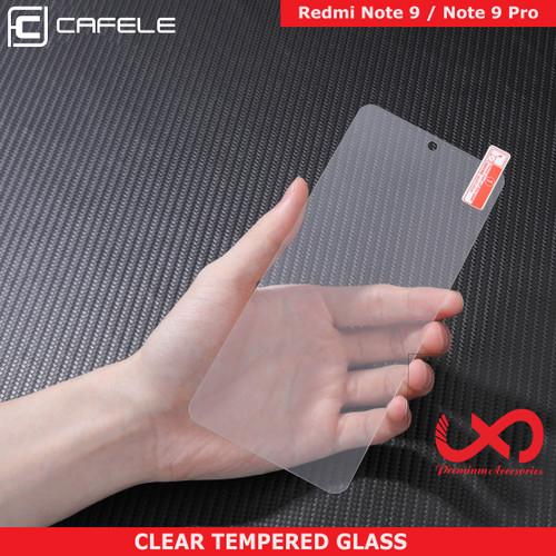 Foto Produk [ORI] Cafele Tempered Glass Redmi Note 9 Pro / Note 9 - Anti Gores - Note 9 Pro dari Lapak X Dareh