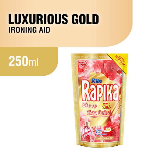 Foto Produk Rapika Biang Pelicin dan Pewangi Luxurious Gold 250 ml dari Wings Official Store