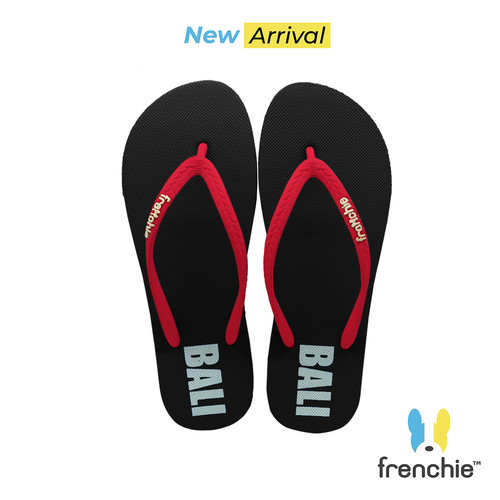 Foto Produk Frenchie Sandal Jepit Basic Red/Black/Red KSCW01 - 36 dari FRENCHIEWAY