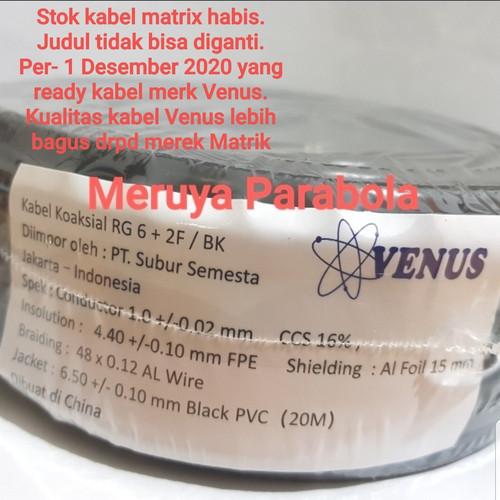 Foto Produk Kabel Antena TV RG6 Matrix dari Meruya Parabola