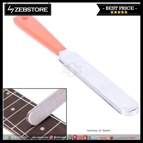 Foto Produk Fret Guitar Crowning Tools File Narrow Dual Cutting Edge dari Zeb Hobbies Store