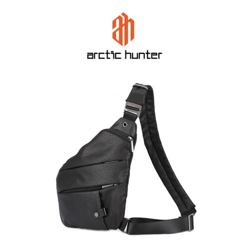 Foto Produk ARCTIC HUNTER XB00041 Crossbody Bag - Tas Selempang BLACK dari ARCTIC HUNTER