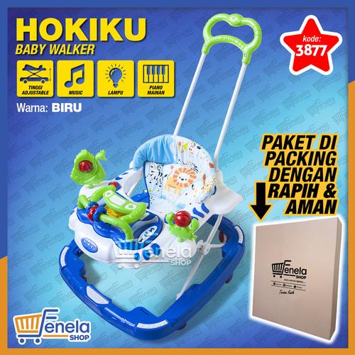 Foto Produk Baby Walker Hokiku 3877 - Biru dari Fenela shop