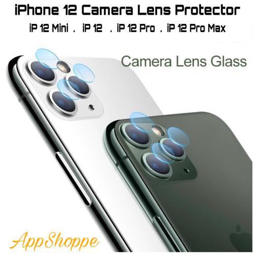 Foto Produk iPhone 12 Camera Lens Back Screen Protector 12mini 12 12Pro 12 ProMax dari AppShoppe