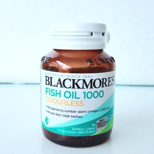 Foto Produk Blackmores Odourless Fish Oil 1000 (30) dari Biang Laris