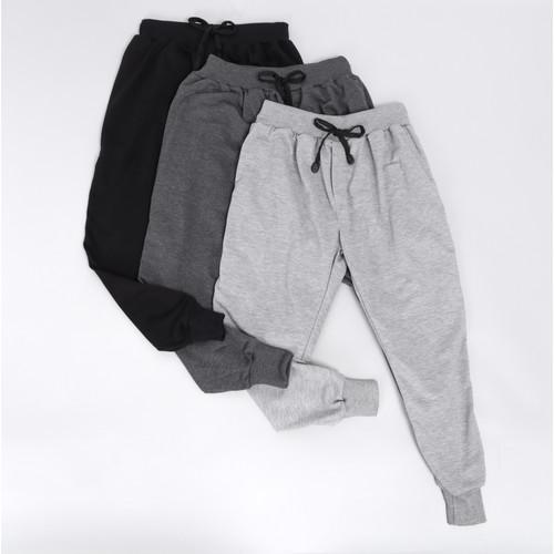 Foto Produk Trackpants / Sweatpants Series - Abu Muda, S dari Arsenio Apparel Store