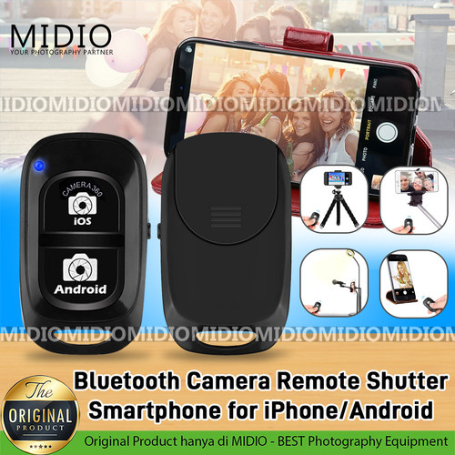 Foto Produk Bluetooth Camera Remote Shutter Smartphone for iPhone/Android dari Midio