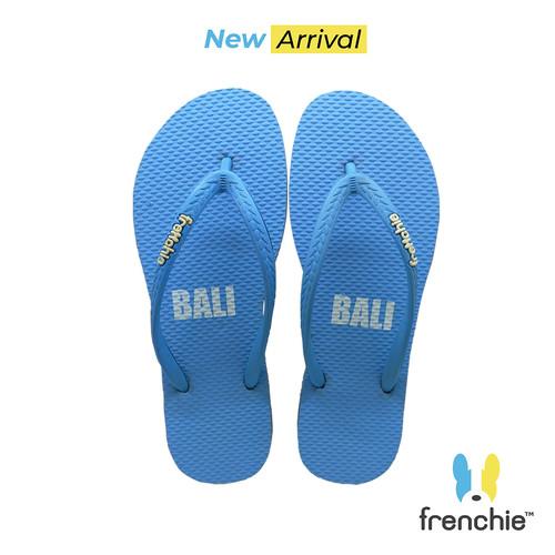 Foto Produk Frenchie Sandal Jepit Basic Slim ALL Blue KSSL03 - 36 dari FRENCHIEWAY