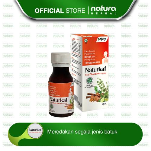 Foto Produk Obat Batuk Herbal Naturkaf - 60 ml dari naturaherbal