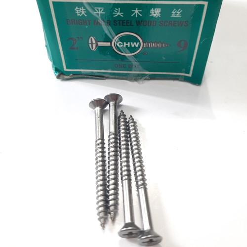 Foto Produk Sekrup Kayu CHW 2 inch x 9 / Skrup Wood Screw (A168) dari JOSH WALLACE