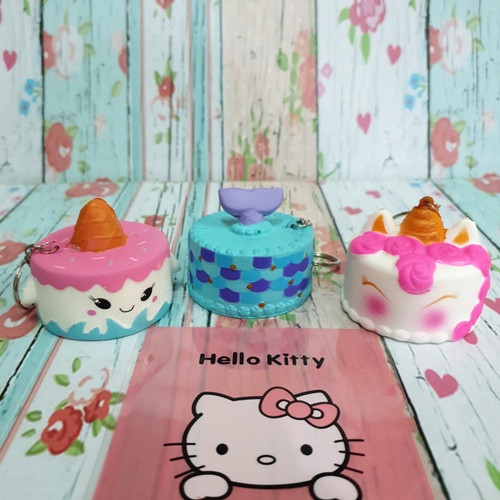 Foto Produk Squishy Murah Unicorn Tart Birthday Cake dari Adi Laris Shop