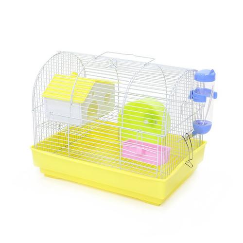 Foto Produk DaYang Hamster Cage B200 Kandang Sugar Glider - Merah Muda dari Hime petshop