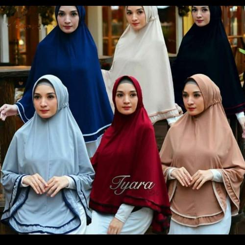 Foto Produk JILBAB instan syar'i TIARA by rici hijab - abu tua dari Rici hijab