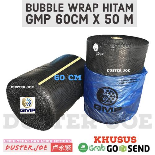 Foto Produk Bubble Wrap Hitam GMP 60CM X 50M Khusus GOSEND / GRAB PER 1 ROLL dari Duster Joe