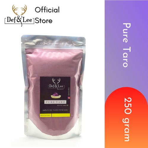 Foto Produk Pure Taro Powder 250gram (Bubuk Ubi Ungu) dari Def & Lee Beverages