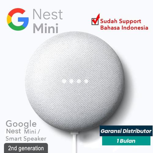Foto Produk Google Nest Mini 2020 (2nd Gen) - Orange dari Smart Life ID