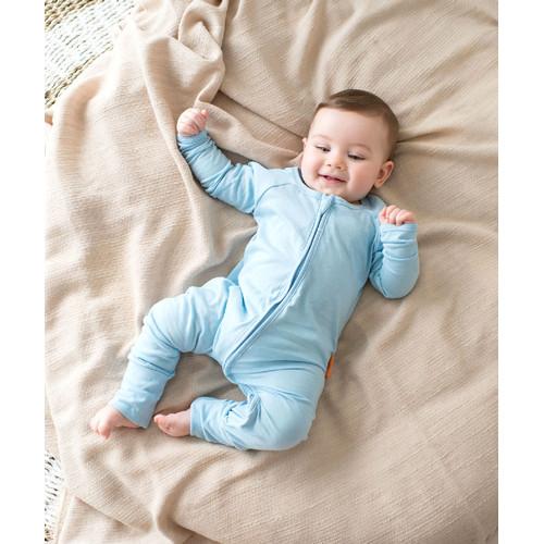 Foto Produk Takoyakids Essentials Azuki Zipper Sleepsuits Cloud Blue - 18-24m dari Kottonville