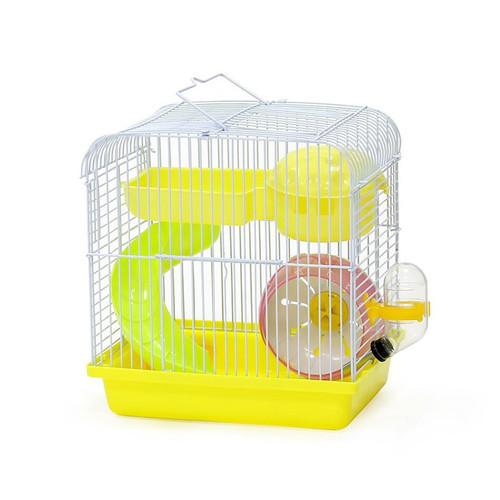 Foto Produk DaYang 157 Hamster Cage Mini Kandang Roborovski Campbel Winter White - Biru dari Hime petshop