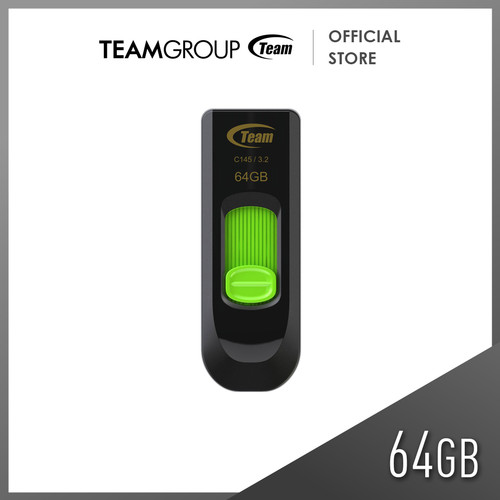 Foto Produk TEAMGROUP C145 USB 3.0 FLASH DRIVE 64GB Green dari Teamgroup Official Store
