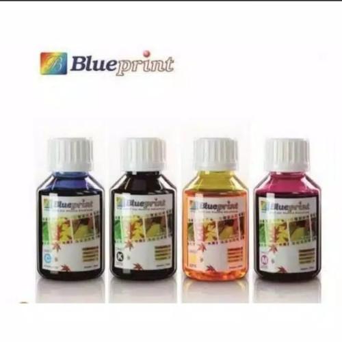 Foto Produk Tinta blue print epson/canon 100ml Black yellow mageta cyan dari salfacom