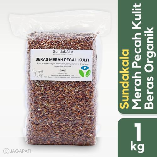 Foto Produk Sundakala - Beras Merah Pecah Kulit 1kg - Beras Organik - Beras Diet dari Jagapati