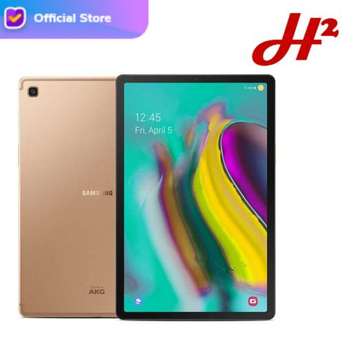Foto Produk Samsung Galaxy Tab S5e 2019 4/64Gb SM-T725 / T725 - Garansi Resmi SEIN - Gold dari H2 Cellular