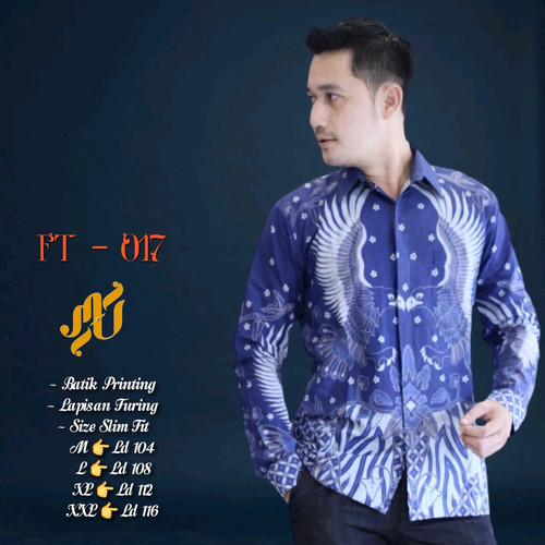 Foto Produk kemeja batik pria lengan panjang prayudha dari Jivan Batik